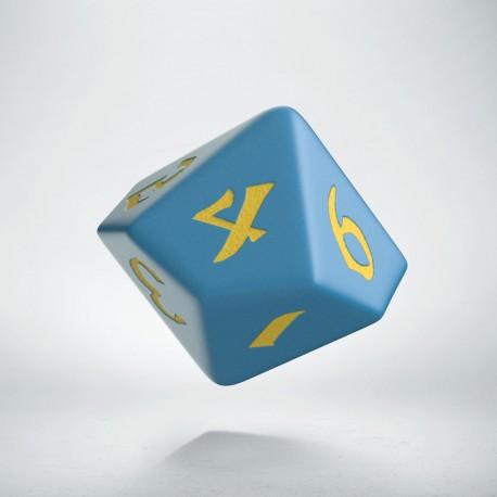 D10 Classic Runic Blue & yellow