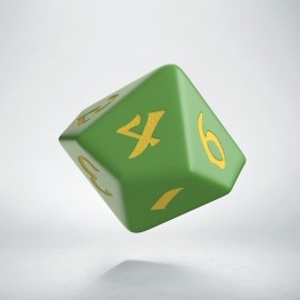 D10 Classic Runic Green & yellow