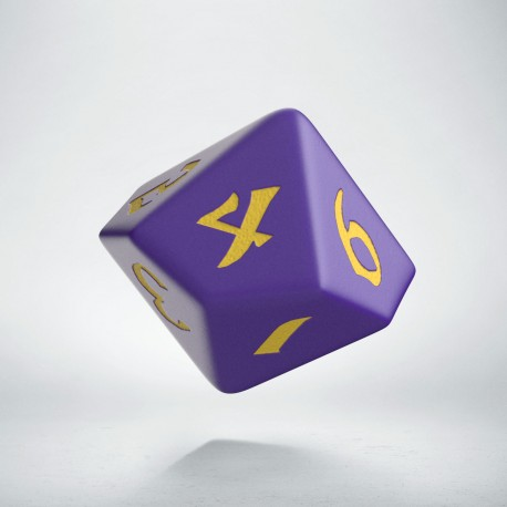 D10 Classic Runic Purple & yellow