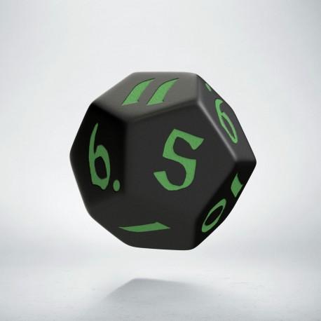 K12 Klasyczno Runiczna Czarno-zielona
