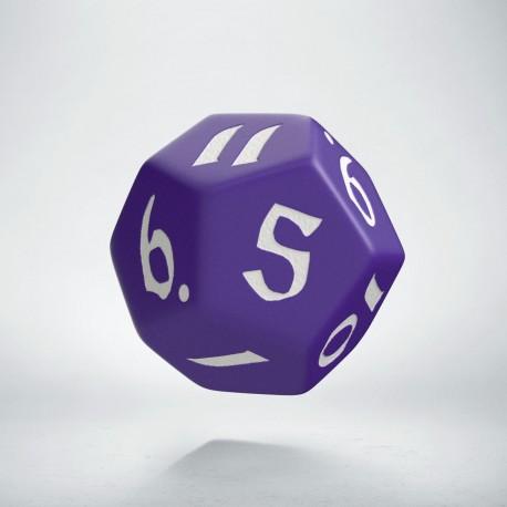 D12 Classic Runic Purple & white