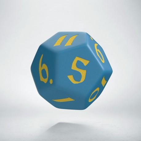 D12 Classic Runic Blue & yellow