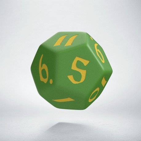 D12 Classic Runic Green & yellow