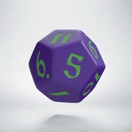 D12 Classic Runic Purple & green