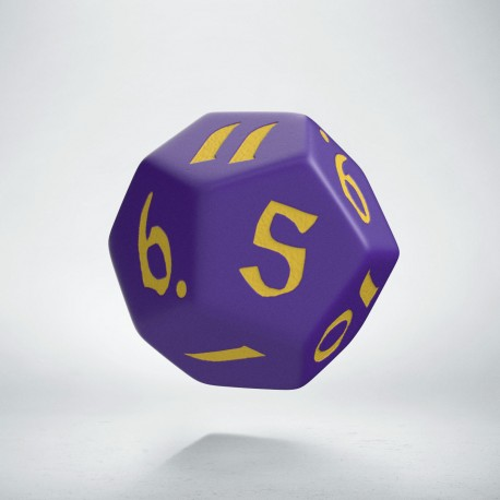 D12 Classic Runic Purple & yellow