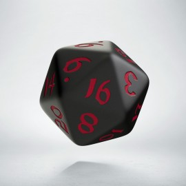 D20 Classic Runic Black & red