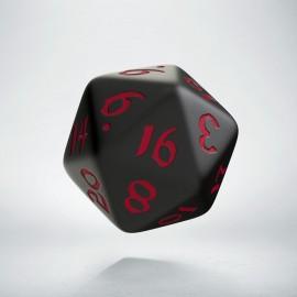 D20 Classic Runic Black & red