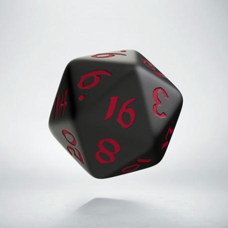 K20 Klasyczno Runiczna Czarno-czerwona