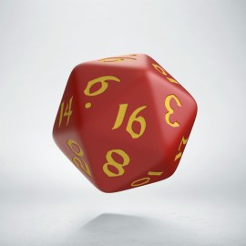 D20 Classic Runic Red & yellow