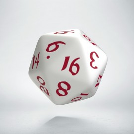 D20 Classic Runic White & red