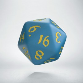D20 Classic Runic Blue & yellow