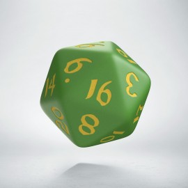 D20 Classic Runic Green & yellow