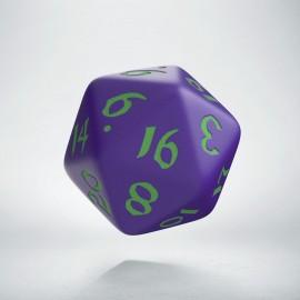 D20 Classic Runic Purple & green