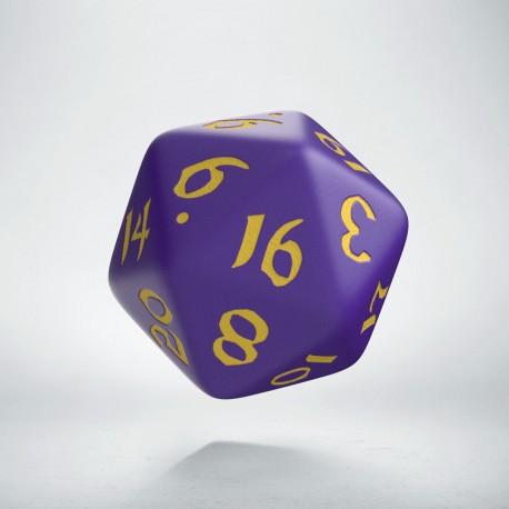 D20 Classic Runic Purple & yellow