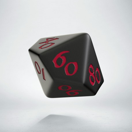D100 Classic Runic Black & red