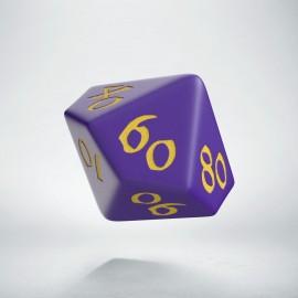 D100 Classic Runic Purple & yellow