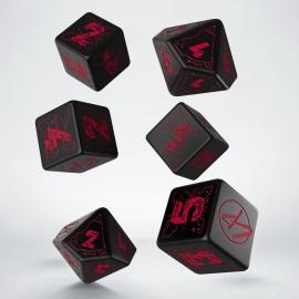 Zestaw kości podstawowych Cyberpunk Red