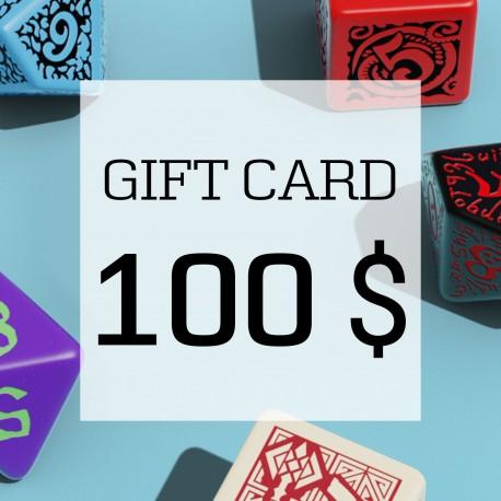 Karta Podarunkowa 100 USD