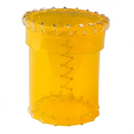 Kubek z Ery Plastiku Przyjrzysto-żółty, PVC