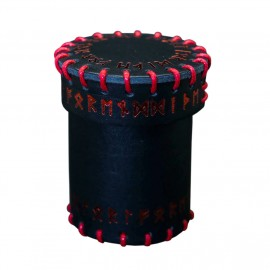 Runic Leather Dice Cup - Unusual UNC002