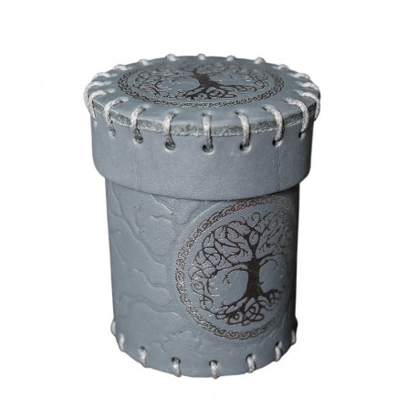 Forest Leather Dice Cup - Unusual UNC005