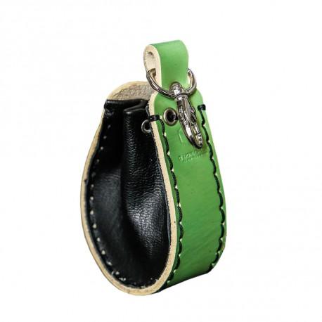 Celadon green Leather Dice Wallet - Unusual UNW001