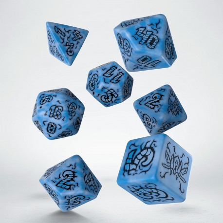 Starfinder Attack of the Swarm Dice Set (Blue & black - Limited Edition)