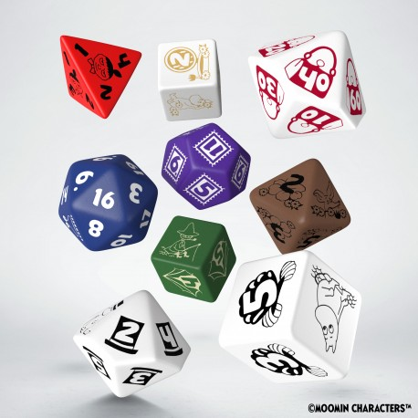 Moomin Dice Set