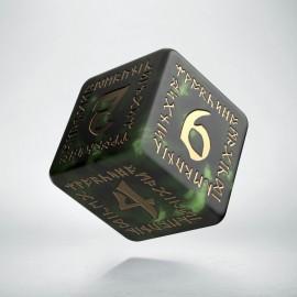 K6 Runiczna Butelkowo zielono-złota (1)
