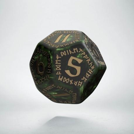 K12 Runiczna Butelkowo zielono-złota (1)
