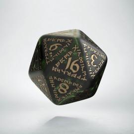 K20 Runiczna Butelkowo zielono-złota (1)