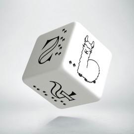 K6 Jaśniejąca Kość Lamowa (Biało-czarna)