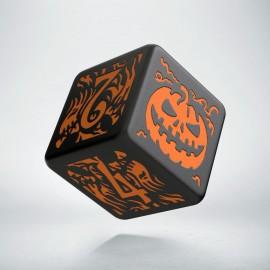 K6 Kość Haloweenowych Huncwotów Czarno-Pomarańczowa