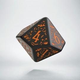 K10 Kość Haloweenowych Huncwotów Czarno-Pomarańczowa