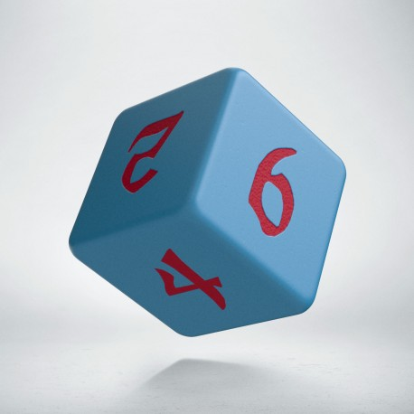 D6 Classic Runic Blue & red
