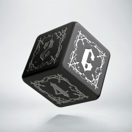 D6 Bloodsucker Black & silver die