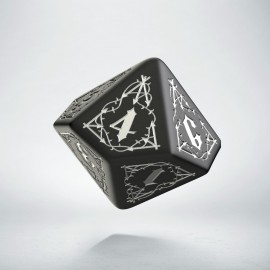 D10 Bloodsucker Black & silver die