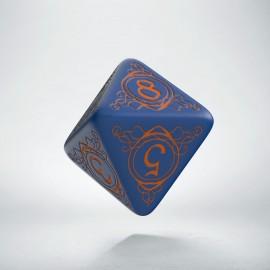 K8 Kość Magów Granatowo-Pomarańczowa