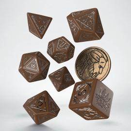 PRZEDSPRZEDAŻ Wiedźmin, zestaw kości RPG. Geralt -Druh Płotki