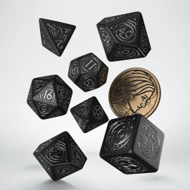 PRE-ORDER The Witcher Dice Set. Yennefer - The Obsidian Star