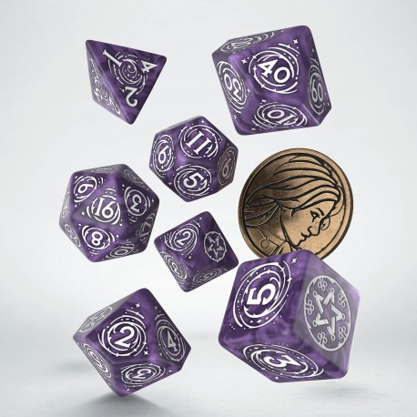 PRE-ORDER The Witcher Dice Set. Yennefer - Lilac and Gooseberries
