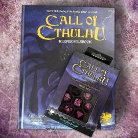 Call of Cthulhu Keeper Rulebook 7th ed + Dice Set