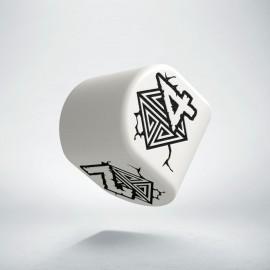 D4 Dwarven Modern White & black