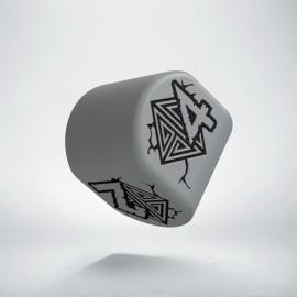 D4 Dwarven Modern Gray & Black