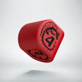 D4 Dragons Modern Red & Black
