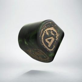 D4 Dragons Modern Bottle-green & Gold