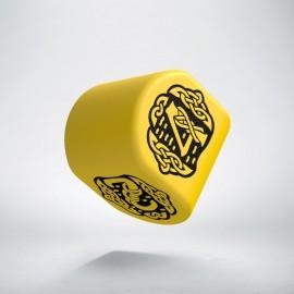 D4 Celtic 3D Revised Modern Yellow & Black