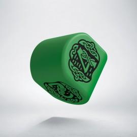 D4 Celtic 3D Revised Modern Green & Black