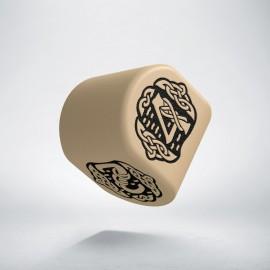 K4 Celtycka 3D Modern Beżowo-czarna