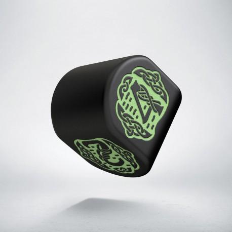 K4 Celtycka 3D Modern Czarno-zielona